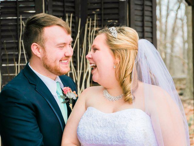 The wedding of Nathan and Kayla
