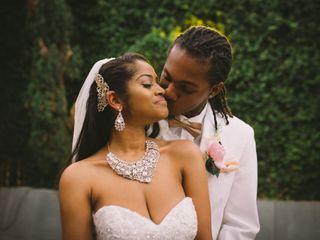 The wedding of Anthony and Cherish