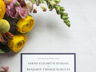 The wedding of Sarah and Ben 2