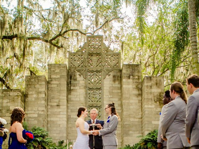 Aaron and Stephanie's Wedding in Maitland, Florida 6