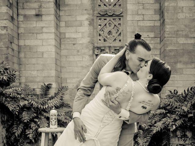 Aaron and Stephanie's Wedding in Maitland, Florida 9