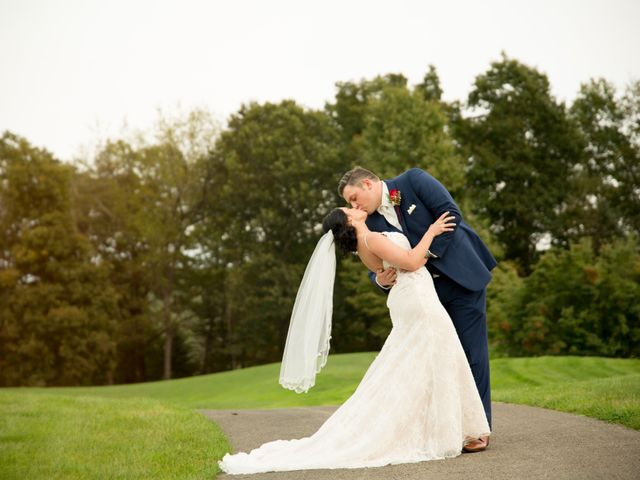 The wedding of Alicia and Stephen