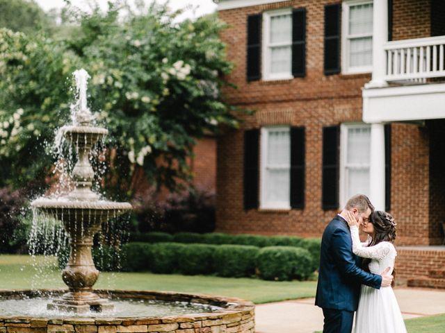 Skylar and Michelle's Wedding in Huntsville, Alabama 9