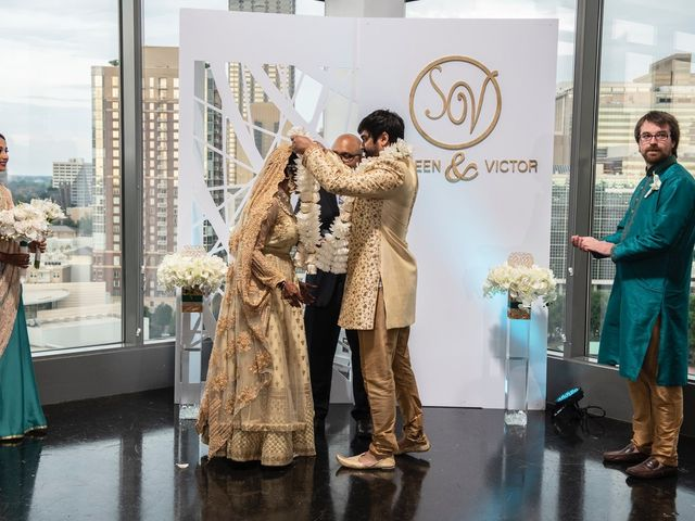 Victor and Shehreen's Wedding in Atlanta, Georgia 46