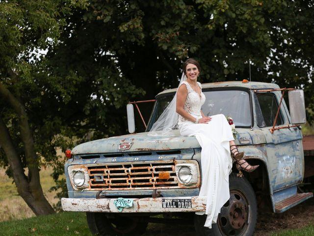 Jordan and Mariah's Wedding in Lomira, Wisconsin 12