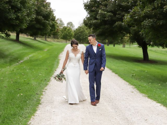 Jordan and Mariah's Wedding in Lomira, Wisconsin 25
