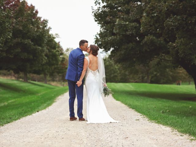 Jordan and Mariah's Wedding in Lomira, Wisconsin 56