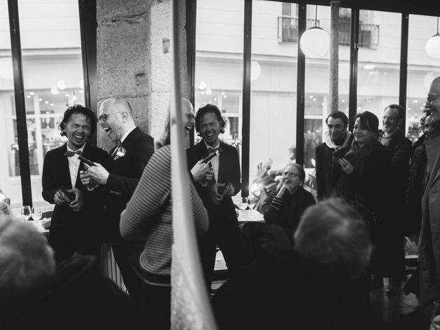 Many and Yves's Wedding in Paris, France 4