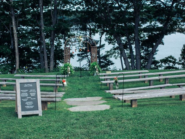 Anna and Mike's Wedding in Wiscasset, Maine 9