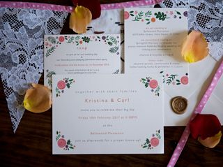 The wedding of Kristina and Carl 3