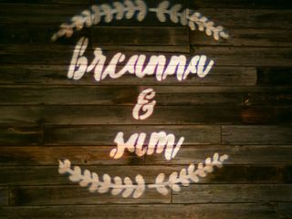 The wedding of Breanna and Sam 2