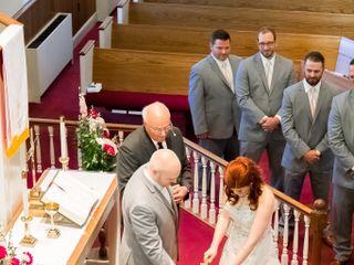 The wedding of Jocelyn and Ben 2