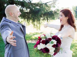 The wedding of Jocelyn and Ben