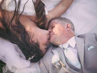 The wedding of Jennifer Brewer  and Leonard Brewer