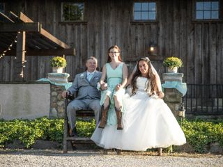 The wedding of Jennifer Brewer  and Leonard Brewer  3