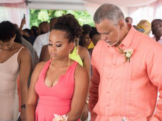 The wedding of Kimani and Dylan 1