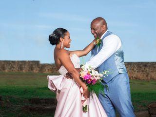 The wedding of Kimani and Dylan