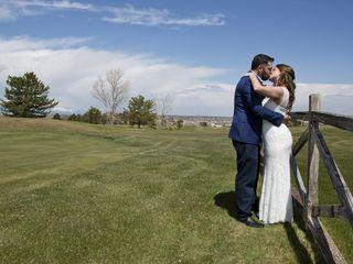 The wedding of Ashley and Nicholas