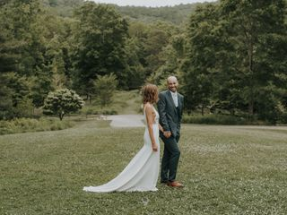 The wedding of Morgan and Brent