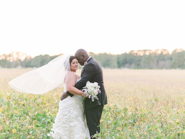 Brian and Rebeca's Wedding in Stevensville, Maryland 349