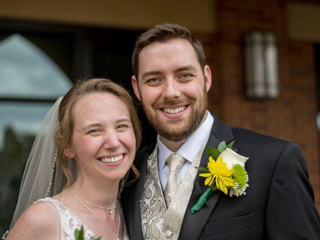 The wedding of Nick and Sarah