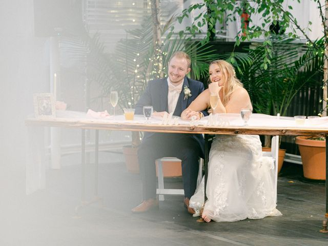 The wedding of Tiffany and Brandon