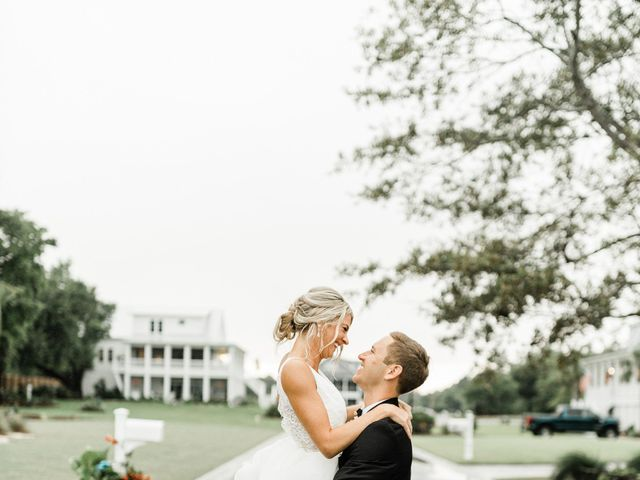 Janel and Kevin's Wedding in Wilmington, North Carolina 54