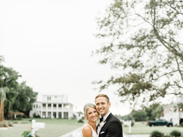 Janel and Kevin's Wedding in Wilmington, North Carolina 56