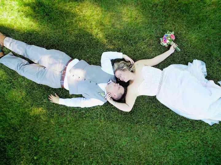 The wedding of Ericka and Sam
