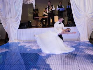 The wedding of Cristina and Valeriu