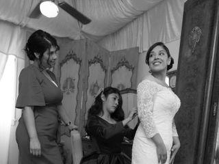 The wedding of Maribel and Elias 1