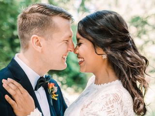 The wedding of Christina and Saku