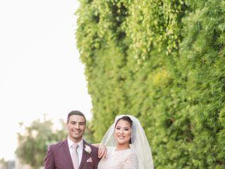 The wedding of Oscar and Kim