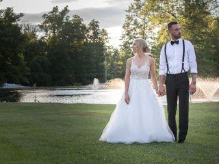 The wedding of Rachel and Jeremy 1