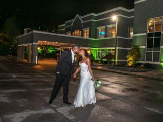 The wedding of Monikee and Garvel 1