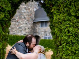 The wedding of Amber and Arron 1