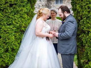 The wedding of Amber and Arron 2