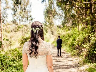 Martha and Dane's Wedding in Pescadero, California 6