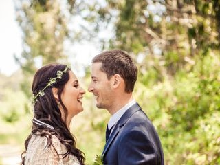 Martha and Dane's Wedding in Pescadero, California 8