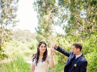 Martha and Dane's Wedding in Pescadero, California 7