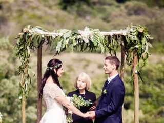 Martha and Dane's Wedding in Pescadero, California 12