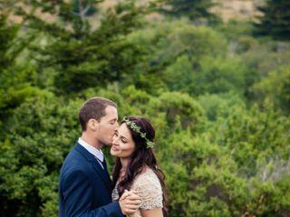Martha and Dane's Wedding in Pescadero, California 13