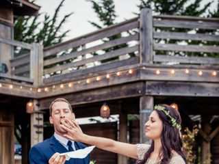 Martha and Dane's Wedding in Pescadero, California 23