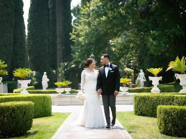 The wedding of Maribel and Elias