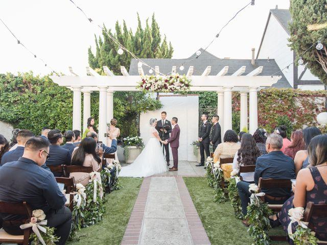 Kim and Oscar's Wedding in Corona del Mar, California 2