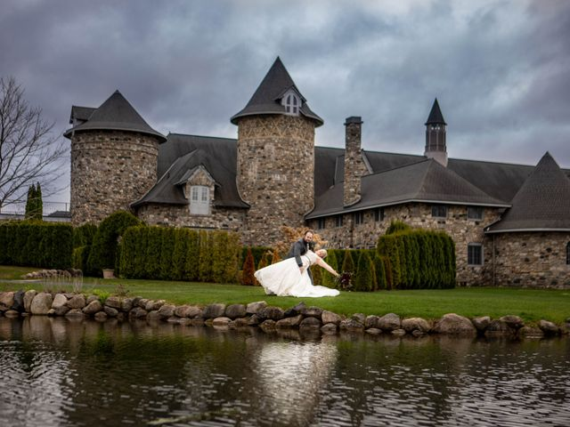 Arron and Amber's Wedding in Charlevoix, Michigan 6