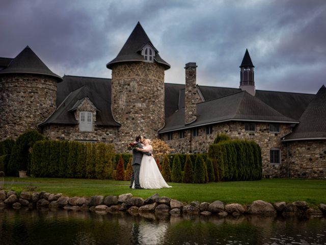 Arron and Amber's Wedding in Charlevoix, Michigan 8