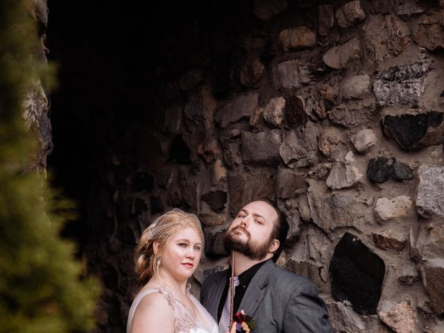Arron and Amber's Wedding in Charlevoix, Michigan 16