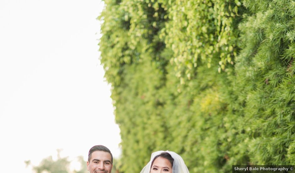 Kim and Oscar's Wedding in Corona del Mar, California