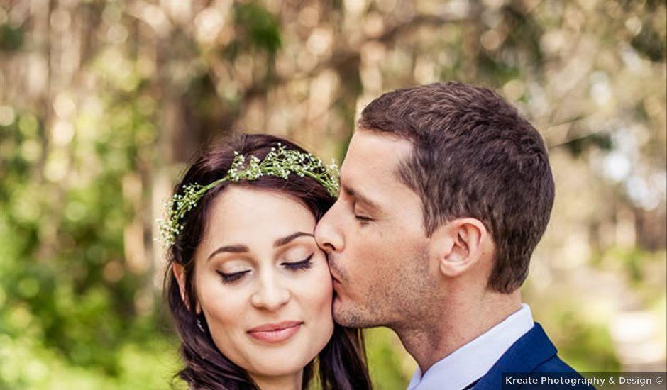 Martha and Dane's Wedding in Pescadero, California